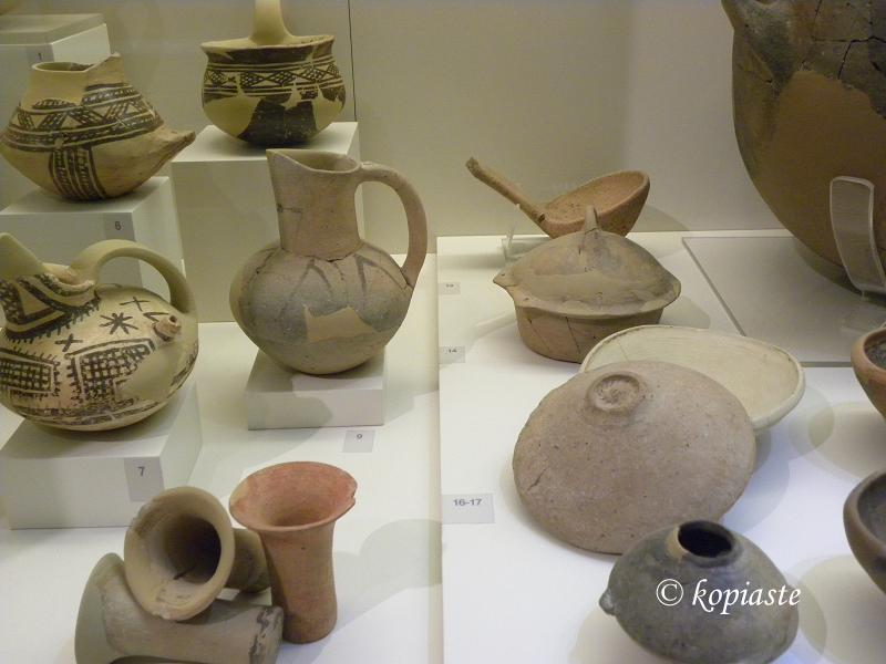 cups, jugs, pyxis