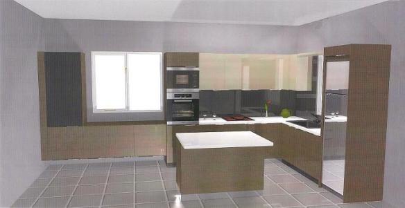 Chocolate Kitchen Floor Tiles