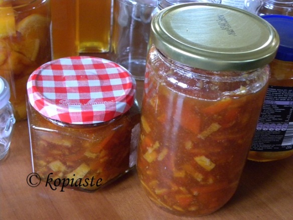 Mandarin Marmalade finished