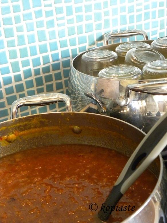 sterlizing jars