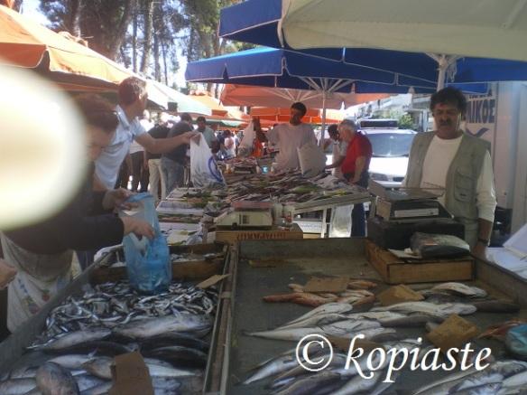 Fish market Nafplio