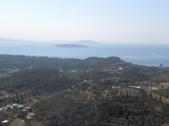 View of Ancient Assini and Plaka Drepanou