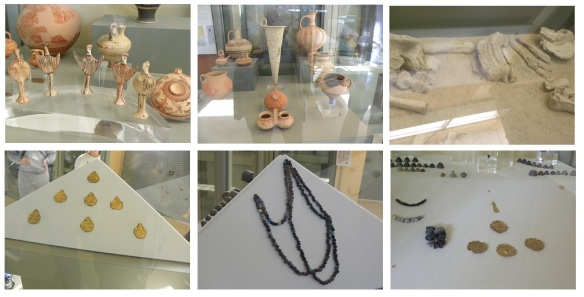 Artifacts in Museum